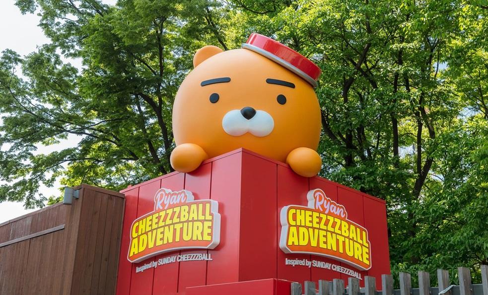 趕快排休!全球首座的 KAKAO FRIENDS 主題樂園在首爾塔開幕 ♥