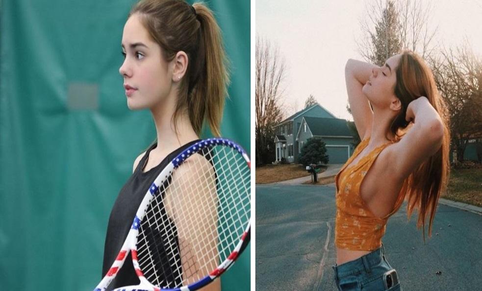 「網球界的艾瑪華森」! 16歲狂吸74萬粉...場下穿搭「清純臉+辣妹衣」