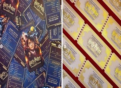 《哈利波特:神秘的魔法石》20週年「超美訂製票根」曝光! 經典元素全都有